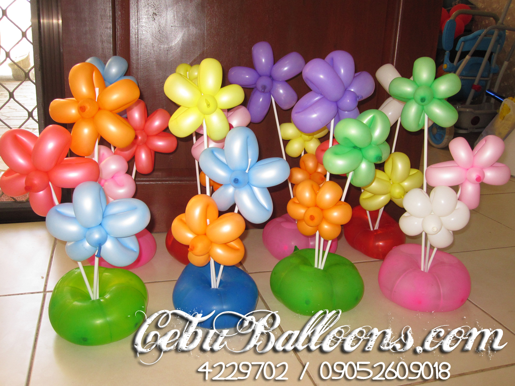 Balloon Decoration (Hawaiian Theme) at Bayswater Clubhouse