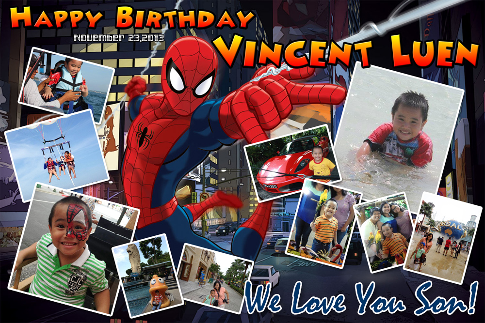 Vincent Luen's Spiderman Birthday | Cebu Balloons and ...