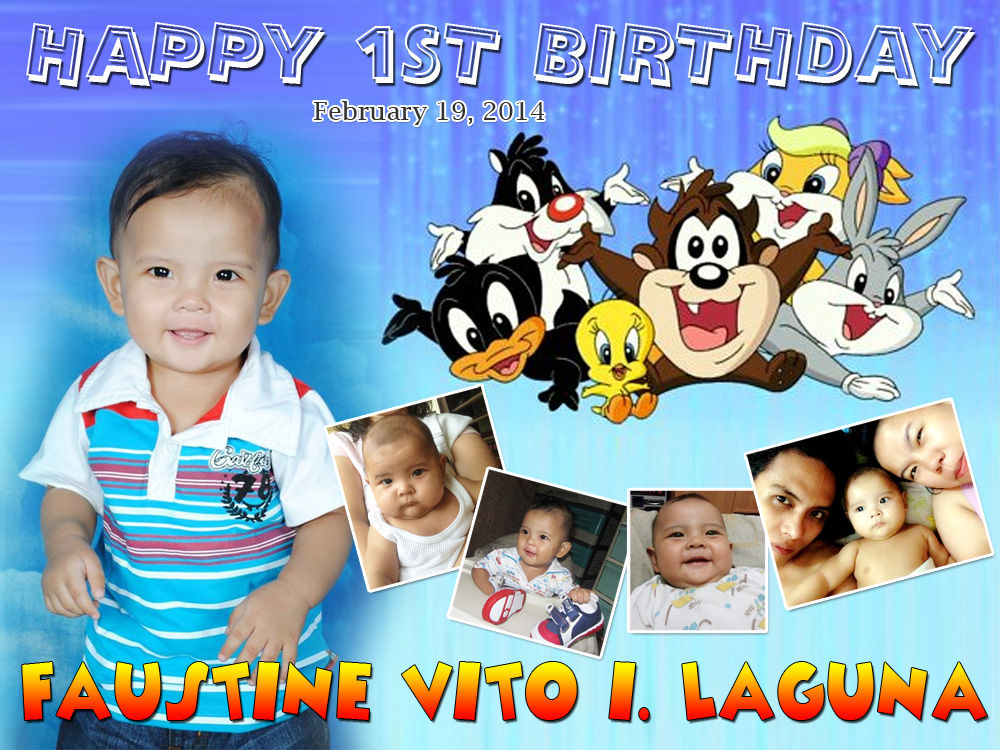 Vito's 1st Birthday Baby Looney Tunes Theme | Cebu ...