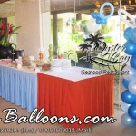 Balloon Decoration at Oyster Bay Restaurant