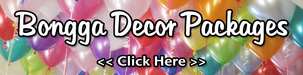 Bongga Balloon Decoration Packages