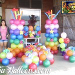 Balloon Decoration Package (Hawaiian Luau Theme) at Mactan Yacht
