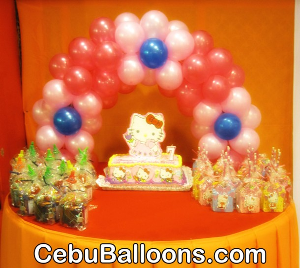 Fondant Cake Ball Design : Balloon Decoration Packages Cebu Balloons and Party Supplies