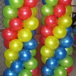 Balloon Columns (Sporty)
