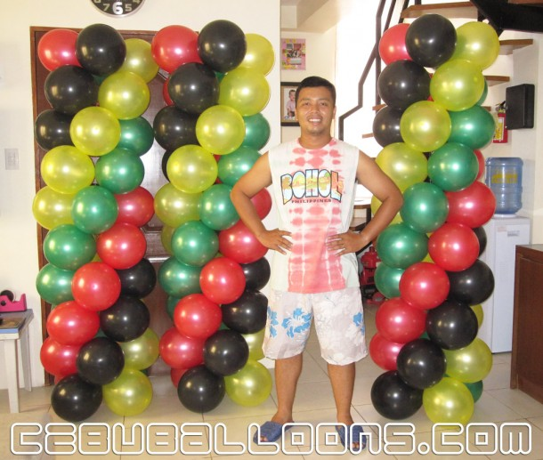 Balloon decoration packages cebu balloons and party supplies for Balloon decoration kit