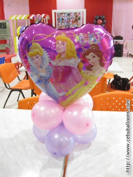 Balloon Centerpiece (Princess)
