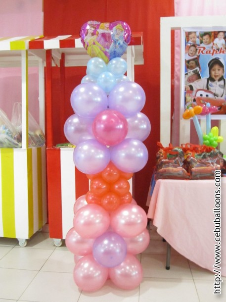 Balloon Column (Princess)