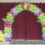 Balloon Arch at SRCDS Montessori