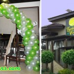 Balloon Arch for Golden Cowrie's (Marina Mall) Re-opening