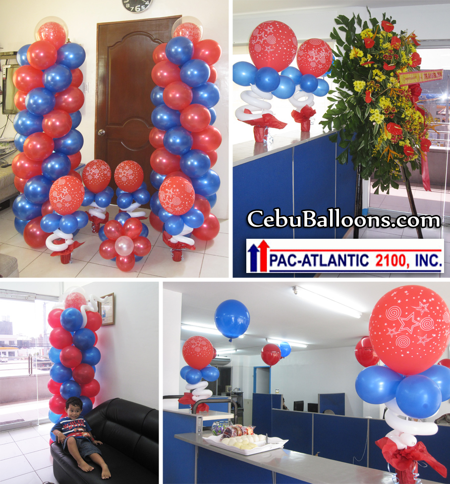 Corporate events cebu balloons and party supplies for Balloon decoration packages