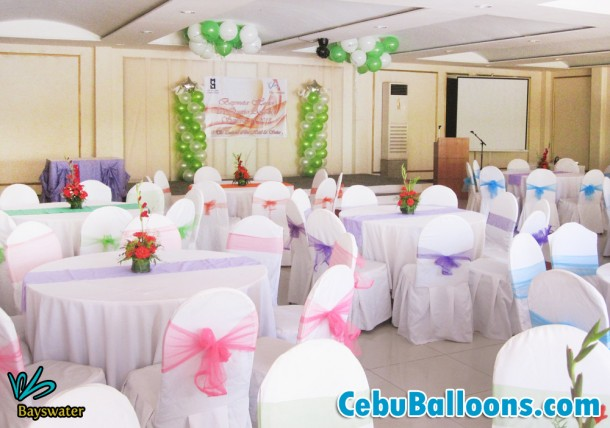 Balloon Decoration for Bayswater at Orchard Hotel