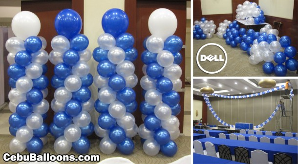 Balloon Decoration for Dell Computer