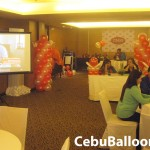 Balloon Decoration for TMSI at Quest Hotel