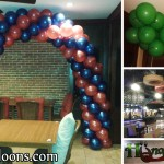 Balloon Decorations for Hungrry Na Me Restaurant
