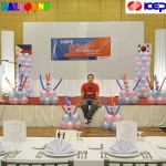 Balloon Decorations for KEPCO at Waterfont Hotel Lahug