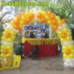 Balloon Entrance Arch at San Carlos University Wrocklage