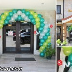 Balloon Entrance Arch for Golden Cowrie (AS Fortuna) Anniversary