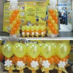 Balloon Pillars & Centerpieces at Cebu Pacific Airlines