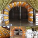 Balloon Tunnel at Marco Polo Hotel Cebu Grand Ballroom for Fluor PH