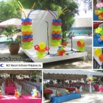 Balloons for NEC Family Day in Maribago Bluewater