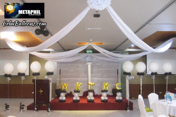 Balloons with Letters & Walkway Balloons for Aboitiz