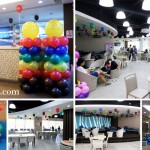 Ceiling Balloons, Pillars & Ground Decors at QQ English