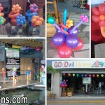 Customized Balloon Decors for Goodwill Pots