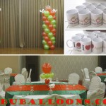 Decors & Mugs for Apple One's Recognition Day at Diamond Suites