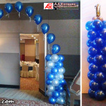 Entrance Arch & Balloon Columns for ASE's 18th Anniversary