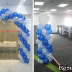 Entrance Arch and Balloon Columns at QBE