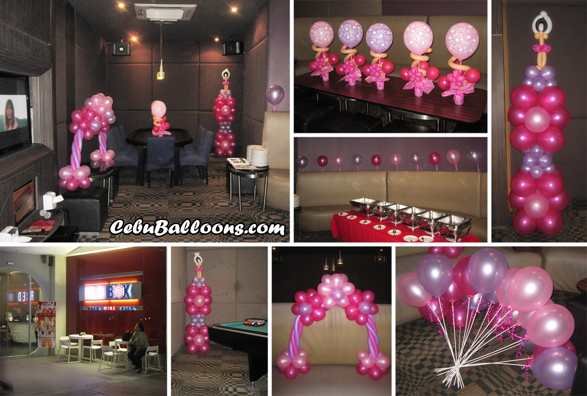 Debut 18th birthday cebu balloons and party supplies for 18th birthday decoration
