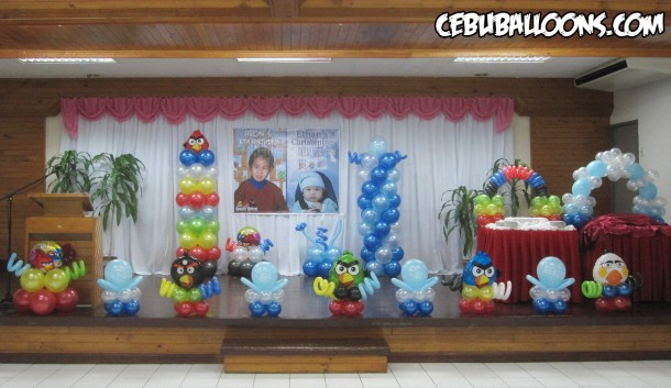 Angry Birds Birthday & Christening Celebration at Sacred Heart Center