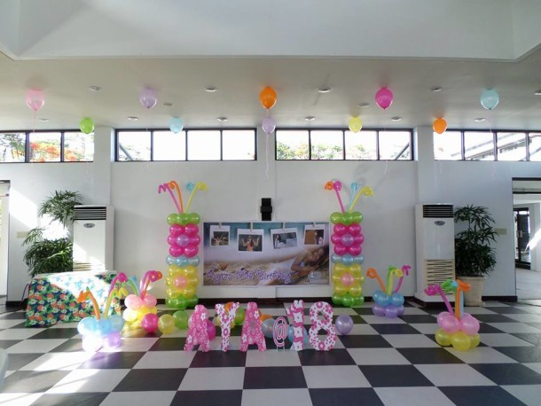 Aya's Debut Decoration at Amara Clubhouse