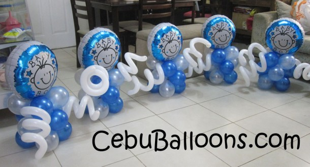 Baby Boy Centerpieces for Choi City