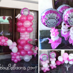 Baby Girl Christening Decoration (Sulit Decor B) at LC Cabrera Casuntingan