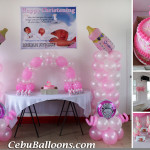 Baby Girl Christening Package with Giveaways & Cakes at San Roque Parish Function Hall, Subangdaku