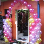 Balloon Arch for Barbie Theme Birthday Party