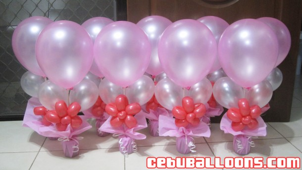 Balloon Arrangement for Debut