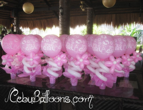 Balloon Centerpieces at Cordova Nature Park Resort