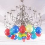 Balloon Chandelier at Casino Espanol