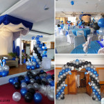 Balloon Decoration Package for a Debut Birthday Party at Crown Regency Guadalupe Grand Ballroom