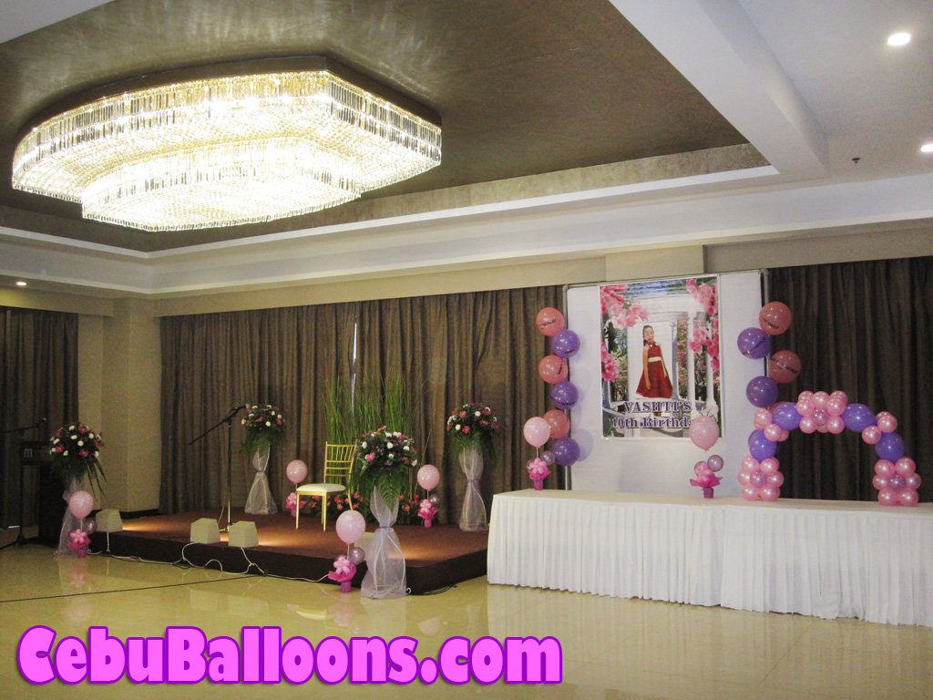 pink & purple | cebu balloons and party supplies