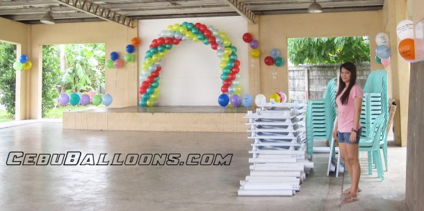 Balloon Decoration at Brookfields Function Hall