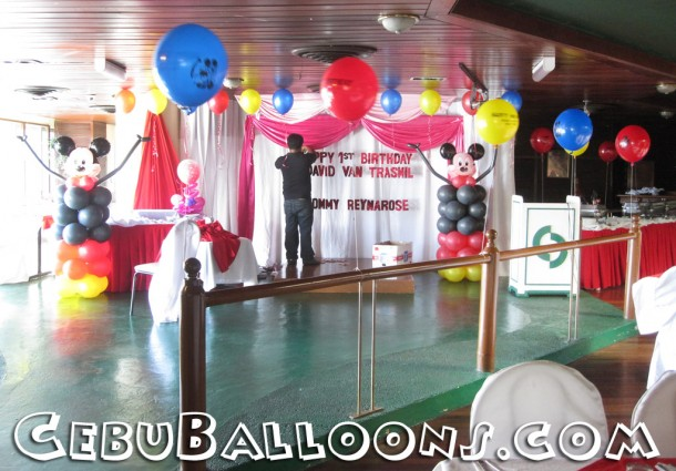 Balloon Decoration at Royal Concourse (Mickey Mouse)