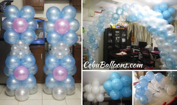Balloon Decoration for Debut (Cess @ 18) at Amara