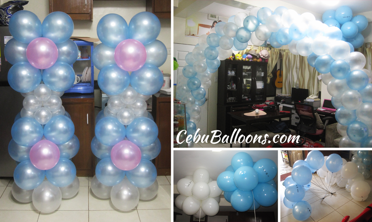Balloon decoration for debut cess 18 at amara cebu for 18 birthday decoration ideas