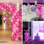 Balloon Decoration for Jackie's 18th Birthday at Cebu Grand Convention