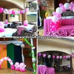 Balloon Decoration for a Christening at Crown Regency Mactan (Pool Side)