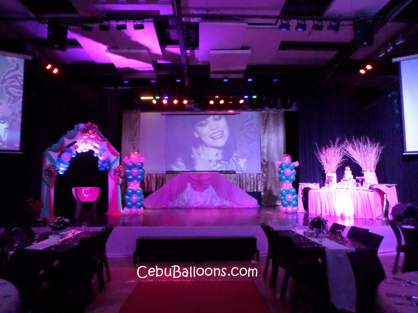 Debut Decoration Packages Cebu Balloons And Party Supplies