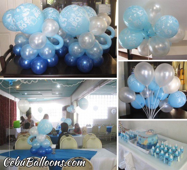 Balloon Decors for Baby Shower at Baseline